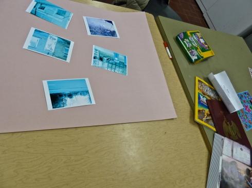 Le projet de cartographie du deuxième groupe, ayant opté pour un collage de photos avec dessins