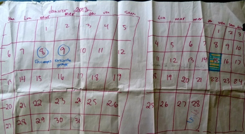 The original planning calendar, or project management 101