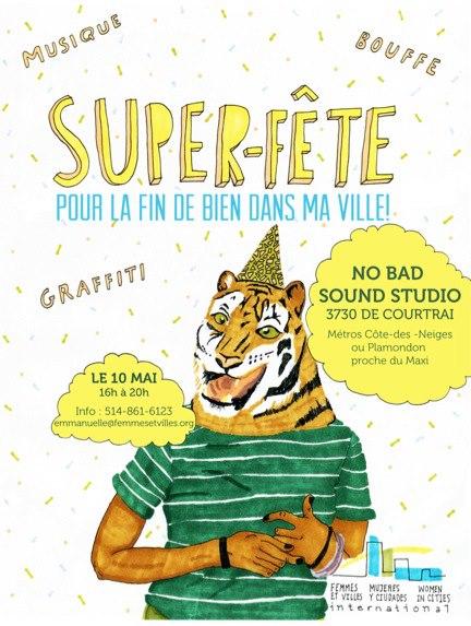 Poster Super-Fête